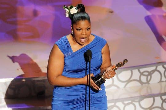 Mo´nique, ganadora como actriz de reparto por Precious. Foto: Reuters