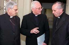 Resultado de imagen para eduardo vicente mirás presidente episcopado