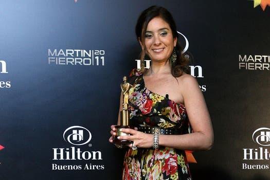 Florencia Etcheves ganó el Martín Fierro por su labor periodística en radio. Foto: DyN