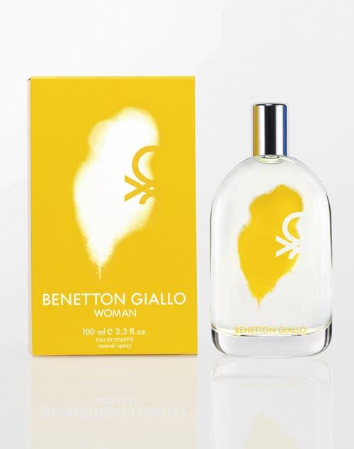 Benetton Giallo Woman, by Benetton ($230 por 100 ml).