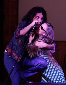 Dente y Otero son Tanguito y Mariana, la pareja protagonista. Foto: Rodrigo Néspolo