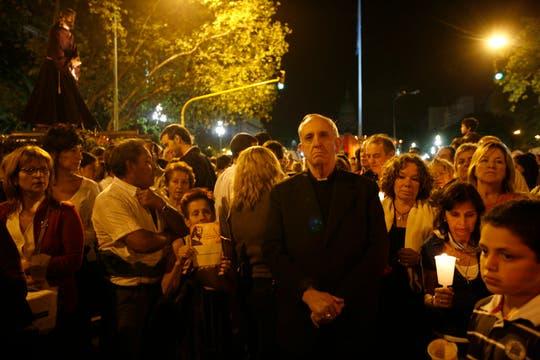 El 19 de abril de 2005, día en que fue elegido Joseph Ratzinger como el nuevo Papa, el argentino había quedado segundo. Foto: Archivo