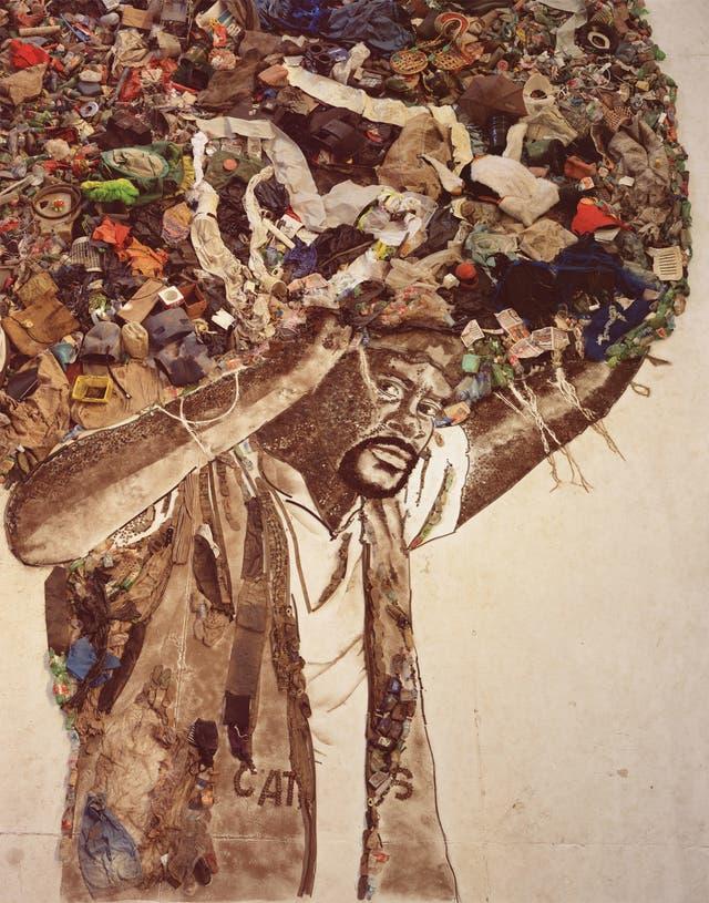 Atlas (Carlao), 2008, de la serie Imágenes de la basura