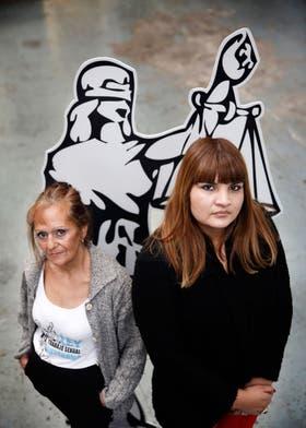 María Cristina y Georgina Orellano luchan por una ley que regule su actividad