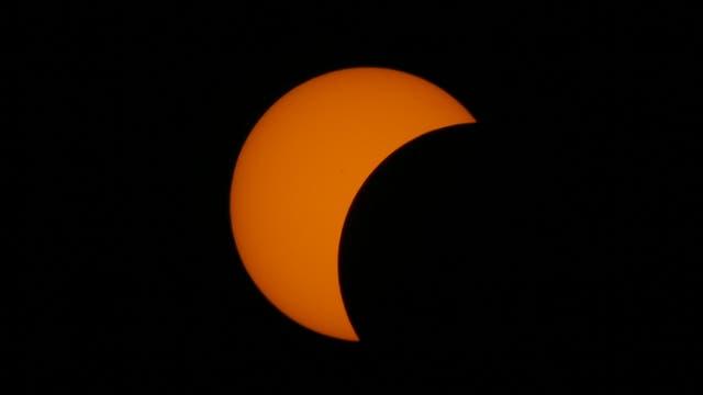 En este punto de Célebes, el eclipse comenzó a las 07.27 hora local. Foto: AP