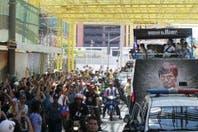 Manny Pacquiao fue recibido como héroe en su Filipinas natal