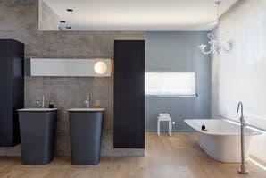 Un baño con lo mejor del diseño italiano