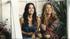 Courteney Cox y Jennifer Aniston, amigas que se defienden