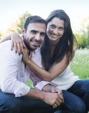 Elina y Alejandro Aguirre