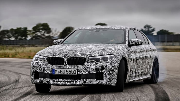 El flamante BMW M5 M xDrive