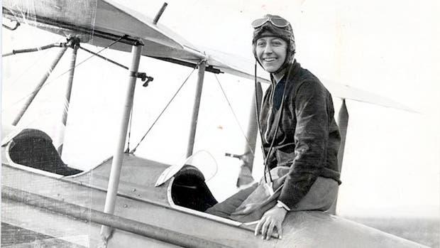 Amy Johnson, la piloto feminista