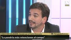 El senador por el Frente Renovador Sebastián Galmarini
