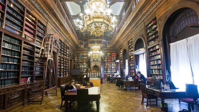 Biblioteca de la Legislatura Porteña. Foto: LA NACION / Ignacio Sánchez