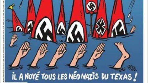 'Charlie Hebdo' más Harvey más neonazis = polémica