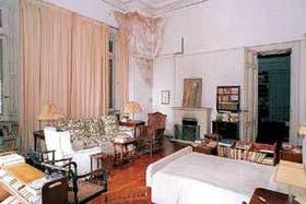 El cuarto en donde murió Victoria Ocampo no se salva del deterioro