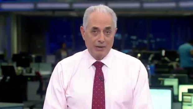 Video: un periodista en Brasil pronunció una frase racista y desató la polémica