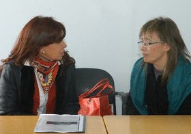 Los encuentros entre Cristina Kirchner y Fabiana Ríos se limitan al protocolo