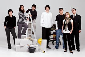 De Izq. a Der.: Paula Forteza (UTDT), Gisele Bilañski (UNLaM), Juan Ignacio Maquieyra (UCA), Agustín Menéndez (UBA), Gabriel Gertner (UTDT), María Migliore (UCA), Fernando Siri, (UNLaM) (La octava p