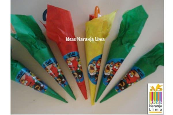 Las golosinas personalizadas para un festejo inolvidable. Foto: Foto: Gentileza ideas Naranja Lima