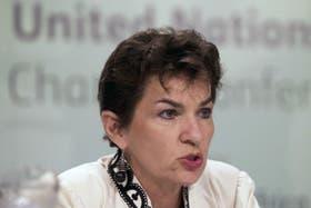 Christiana Figueres, Secretaria Ejecutiva de la Convención de las Naciones Unidas para el Cambio Climático