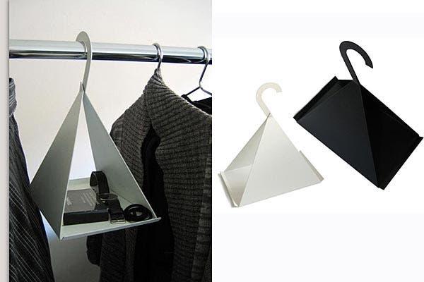 No sabés qué hacer con los accesorios; ¿qué te parecen estas perchas?. Foto: Bemlegaus.com