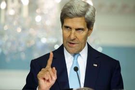 John Kerry volvió a hablar sobre la masacre en Siria