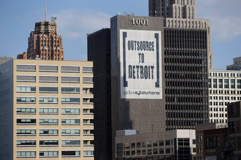 Las fotos de la ciudad de Detroit. Foto: AP