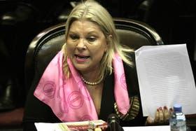 Elisa Carrió le pidió al juez Ercolini que active la causa contra el ex presidente