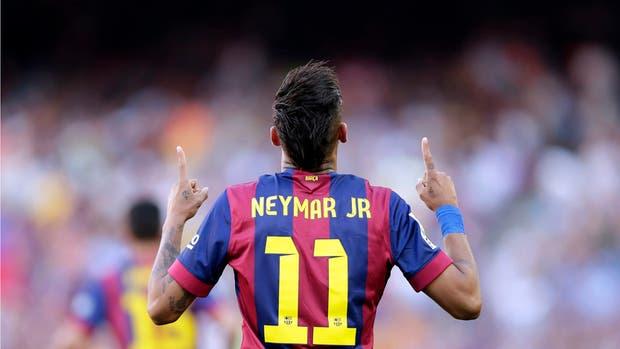 Neymar, cada vez más participativo y determinante