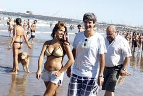 Victoria Donda y Prat Gay, en el verano; ambos se quedaron afuera de las elecciones de octubre