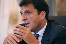 Sergio Massa definirá el jueves próximo si se postula o no como diputado nacional