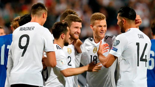 Alemania aplastó a San Marino