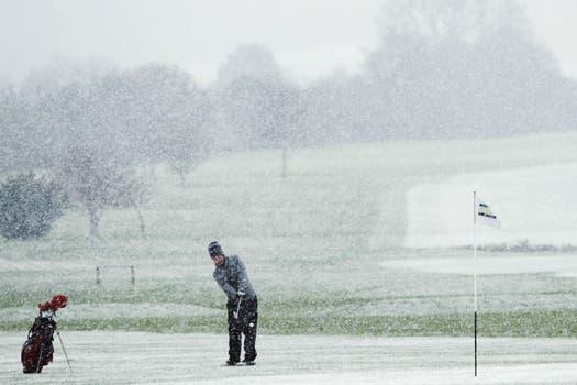 Taantas ganas de jugar al golf ibas a tener. Foto: Reuters