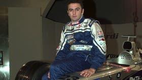 Esteban Tuero corrió en la Fórmula 1 en 1998