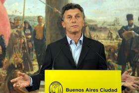 Mauricio Macri anunció el lanzamiento del Ipcba el 31 de mayo