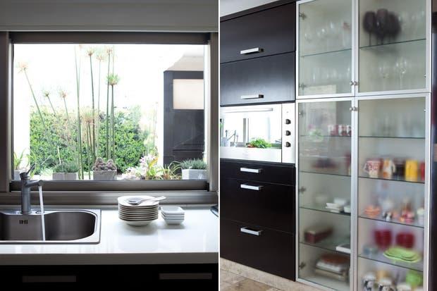 Una cocina minimalista y funcional   living   espacio living