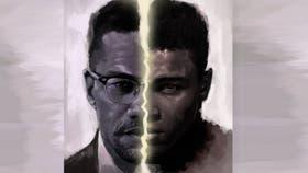 Malcom X y Cassius Clay