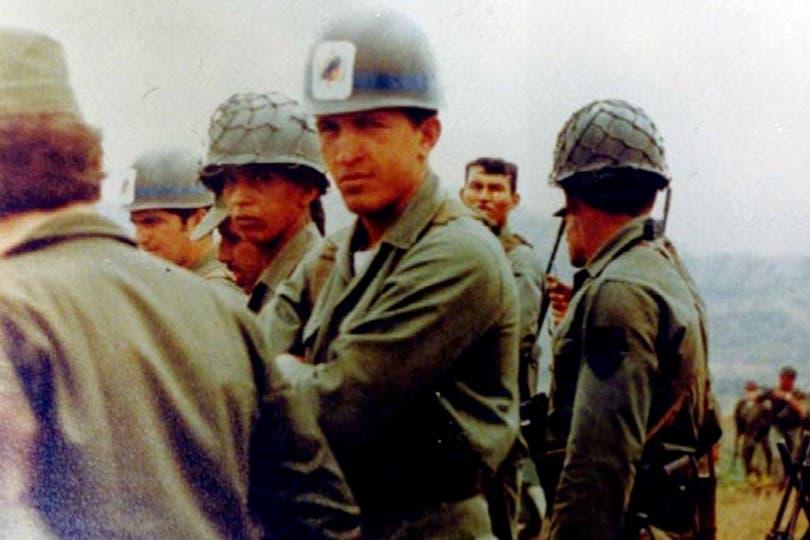 Durante un ejercicio de rutina en la academia militar. Foto: AP