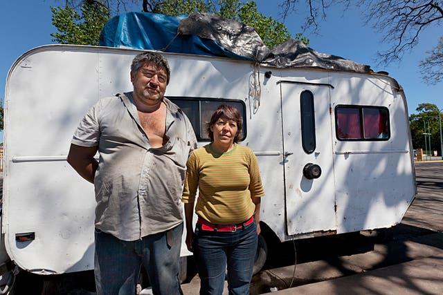 Mónica y Víctor tienen su casa en la Costanera