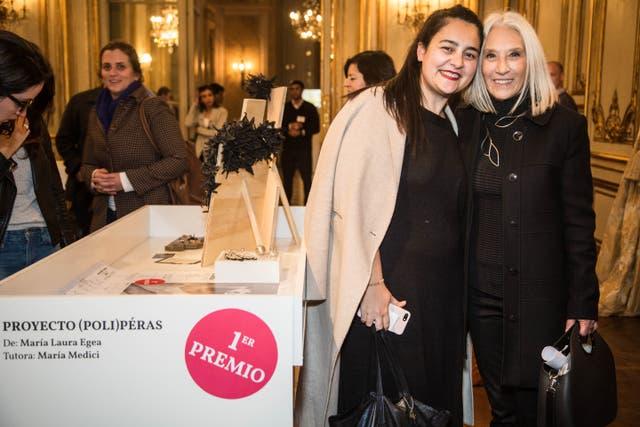 María Laura Egea, tutorada por María Medici, ganó el Premio MAD 2017