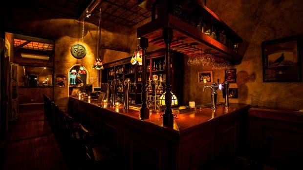 En palermo The Temple Bar se armó en una casa antigua estilo chorizo