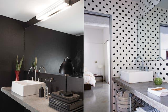 El departamento tiene dos tocadores: un toilette en la planta baja y un baño en la planta de arriba