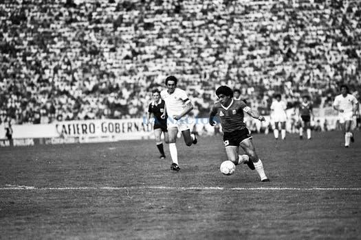Diego Maradona. Foto: LA NACION / Antonio Montano