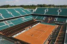 La vista del Philippe Chatrier, el estadio principal de Roland Garros