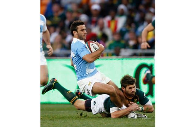 El equipo argentino cayó ante Sudáfrica en su segundo estreno en el Rugby Championship.  Foto:Reuters
