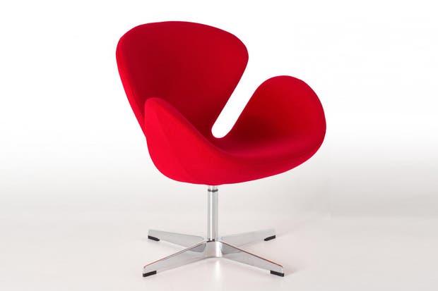 Sillón Swan de Arne Jacobsen .