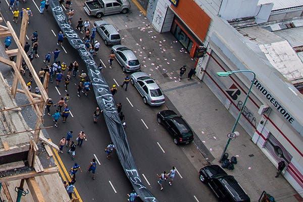 La caravana de Boca