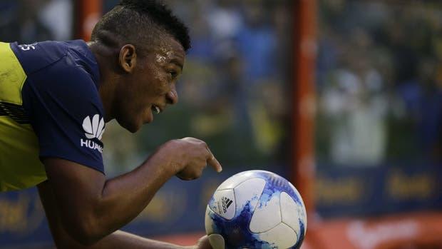 Fabra lleva cinco goles en 38 partidos oficiales con Boca; además, es el tercer hombre con más asistencias, con 4, detrás de Pavón (11) y Tevez (7)