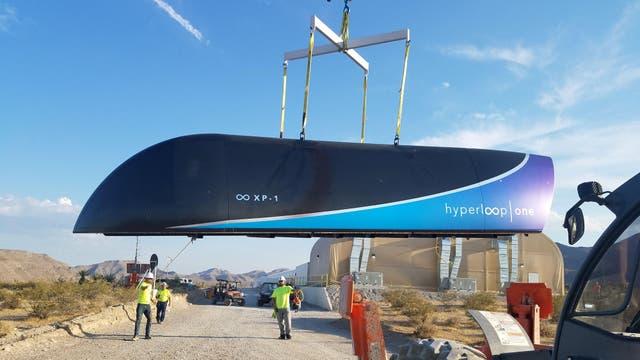 El Hyperloop con el que se harán las primeras pruebas