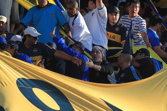 La barra de Rafael Di Zeo. Foto: LA NACION / Aníbal Greco